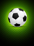 Background with ball vector illustration