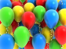 Background balloon Stock Image