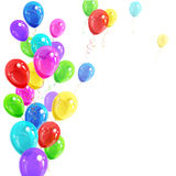 Background of balloons Stock Images
