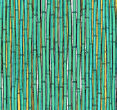 Background with a bamboo. Bamboo branches, stalks Royalty Free Stock Photos