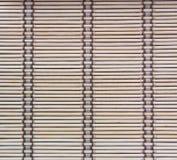 Background bamboo curtain Stock Image