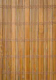 Background bamboo curtain Royalty Free Stock Image