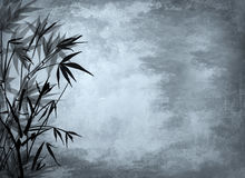 Background with bamboo. Royalty Free Stock Photo