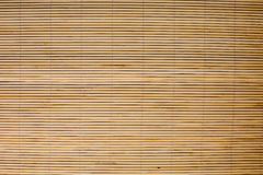 Background of bamboo mat texture Royalty Free Stock Image