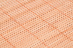 Background. Bamboo placemat texture for background, close-up image Stock Photography