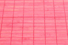 Background. Bamboo placemat texture for background, close-up image Stock Image