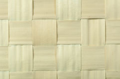 Background of bamboo strips Stock Photography