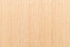 Background of the bamboo surface of mat Stock Photos