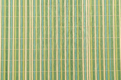 Background of the bamboo surface of mat Royalty Free Stock Images