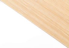 Background of the bamboo surface of mat Stock Image