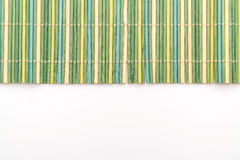 Background of the bamboo surface of mat stock images
