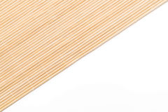 Background of the bamboo surface of mat royalty free stock image
