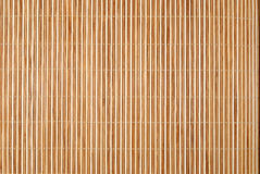 Background from bamboo table cloth Stock Image