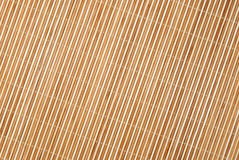 Background from bamboo table cloth Royalty Free Stock Photography