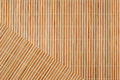 Background From Bamboo Table Cloth Stock Photo