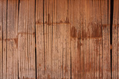 Background bamboo walls for a house wall. Stock Photography