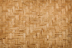 Background - bamboo weaving Stock Photo