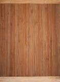 Background bamboo wood Royalty Free Stock Image