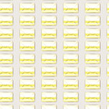 Background band envelope yellow letter seamless Stock Images
