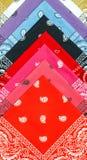 Background from bandana Stock Image