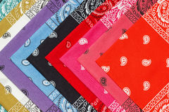 Background from bandanas Stock Image