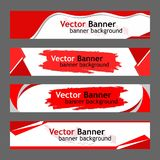 Background Banner Red White collection stock photography