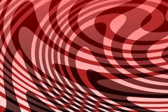 3 D Red and black double Abstract vector background. This background is banners website any more company book cover and printing user mobile and laptop wallpaper royalty free illustration