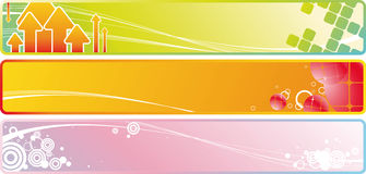 Background banners6 Royalty Free Stock Photos