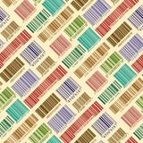 Background with bar codes. Seamless background with bar codes Stock Photo