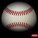 Background of baseball leather ball. Various sides Royalty Free Stock Photos