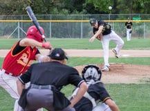 background baseball pitch royaltyfri foto