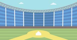 Background of baseball stadium. Stock Photography