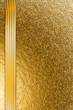 Background on the basis of the golden granulated surface Royalty Free Stock Photo