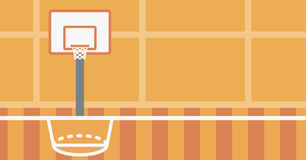 Background of basketball court. Stock Photography