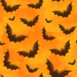 Background with bats. Halloween seamless pattern with bats Royalty Free Stock Images