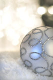 background bauble christmas light Στοκ Φωτογραφίες
