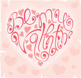 Background -- Be my Valentine Stock Image