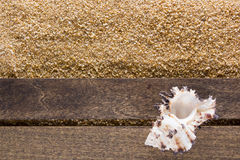 Background with beach sand Stock Photos