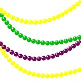 Background of beads for mardi gras. Vector illustration. royalty free illustration