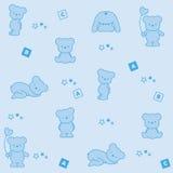 Background bears Stock Image