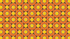 Background a beautiful Islamic decoration with harmonious intertwined shapes, beautiful colors and attractive colors Royalty Free Stock Images