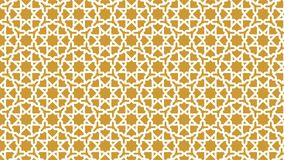 Background a beautiful Islamic decoration with harmonious intertwined shapes, beautiful colors and attractive colors Stock Images