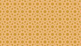 Background a beautiful Islamic decoration with harmonious intertwined shapes, beautiful colors and attractive colors Stock Image