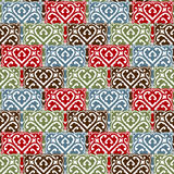 The background of beautiful seamless patterns Royalty Free Stock Image