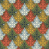 The background of beautiful seamless patterns Royalty Free Stock Photo