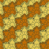The background of beautiful seamless patterns Royalty Free Stock Photos