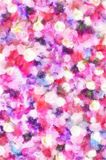 Background Beautiful Wall Made Of Red Violet Purple Flowers Roses Tulips Press Wall Stock Photography