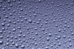 Background of beautiful water drops Stock Image