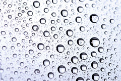 Background of beautiful water drops Royalty Free Stock Images