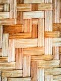 Background Beautiful wood weave Royalty Free Stock Image